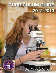 CURRICULUM GUIDE 2012-2013 copy - The Ethel Walker School