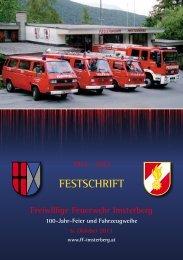 Link zu der Festschrift! - Freiwillige Feuerwehr Imsterberg