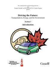 Driving the Future: Transportation, Energy, and the Environment ...