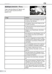 Quizfragen entwickeln – Übung
