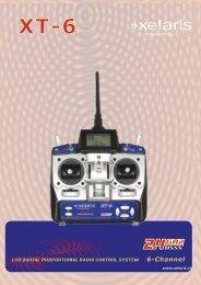 Sender XT-6 Anleitung - Heli Professional