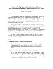 Rules in Writing – Quoting, Paraphrasing, and Citing: How to Write ...