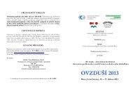 ovzduší 2013 - Centrum pro výzkum toxických látek v prostředí