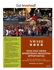 NW Society of Interior Designers - nwsid
