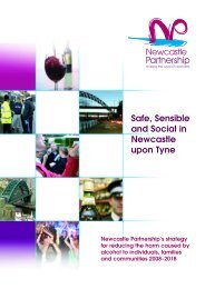 Safe, Sensible and Social in Newcastle upon Tyne A strategy for ...