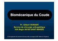 Biomécanique Coude - ClubOrtho.fr