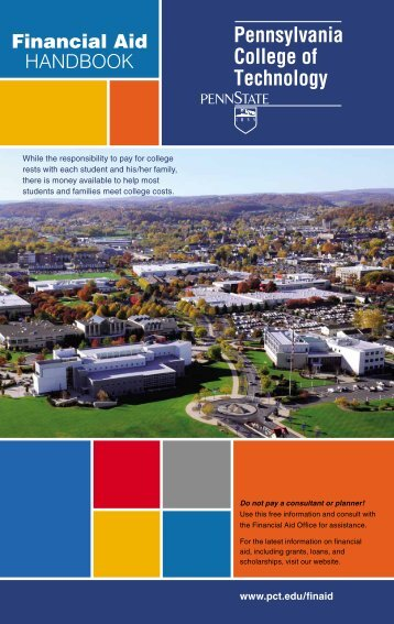 Financial Aid Handbook - Pennsylvania College of Technology