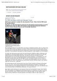 BIETIGHEIMER ZEITUNG :: Druckversion - Das rad-net-BMX-Portal
