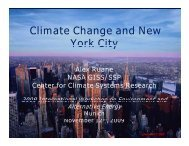 Adaptation Measures in New York City