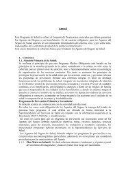 Anexo I - Superintendencia de Servicios de Salud