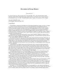 Descendants of George Blanton - RootsWeb: Freepages