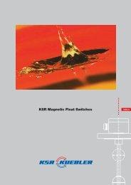 KSR Magnetic Float Switches - Adinco bv