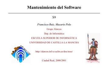 Sesión 9 - Grupo Alarcos - Universidad de Castilla-La Mancha