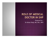 Role of family physician in school health