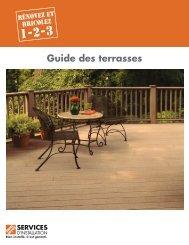 Guide des terrasses - Home Depot