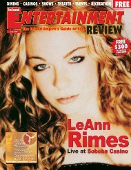 IER 7-04 - Inland Entertainment Review Magazine