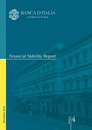 Financial Stability Report - Center for Financial Stability