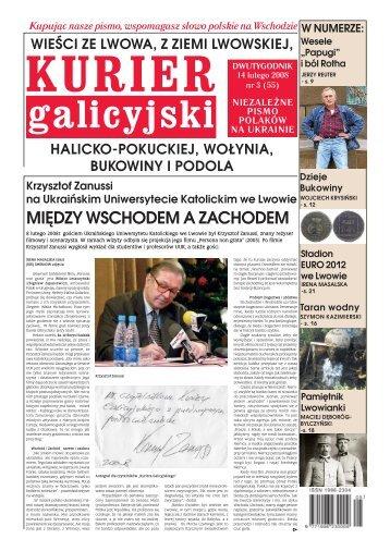 Kurier Galicyjski 3/2008 - Kresy24.pl