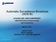 Automatic Surveillance Broadcast - ADS-B for General Aviation