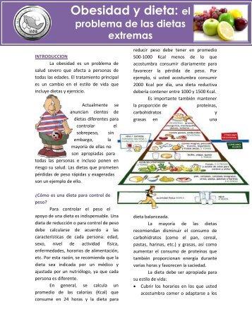 Obesidad y dieta: el