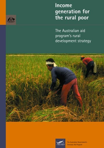 Income Generation for the Rural Poor - AusAID