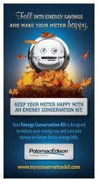 Energy Conservation Kit - FirstEnergy