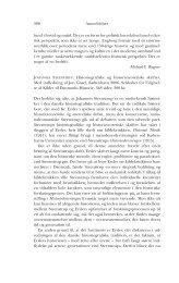 580 Anmeldelser fund i fortid og nutid. Det er en ... - Historisk Tidsskrift