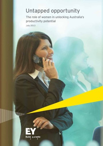 Untapped opportunity - The Workplace Gender Equality Agency