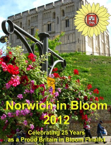2012 portfolio - Norwich In Bloom