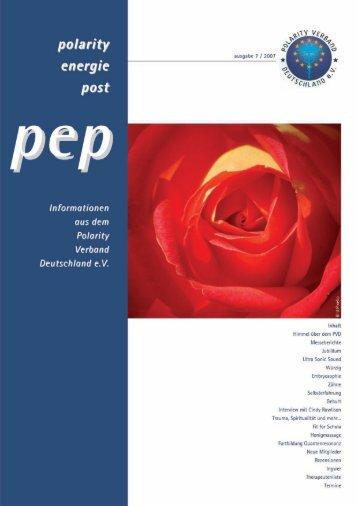 PEP Nr. 7 2007 - Polarity-Verband Deutschland eV