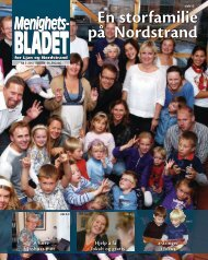 En storfamilie på Nordstrand - Mediamannen