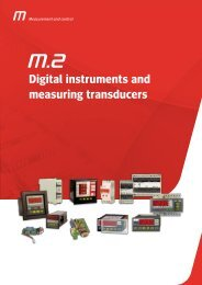 Digital instruments and measuring transducers - Circutor