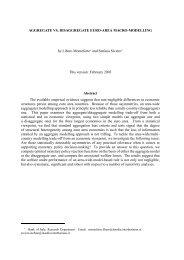 Aggregate Vs. Disaggregate Euro-Area Macro-Modelling