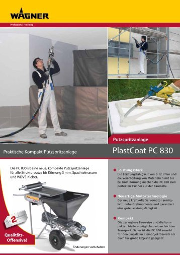 PlastCoat PC 830 - Wagner