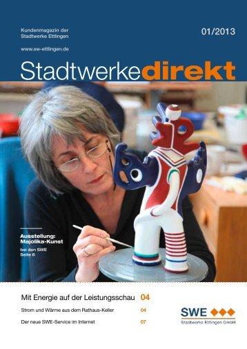 Ausgabe 01/2013 - Stadtwerke Ettlingen GmbH