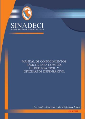Manual de Conocimientos Básicos para Comités de Defensa Civil y ...