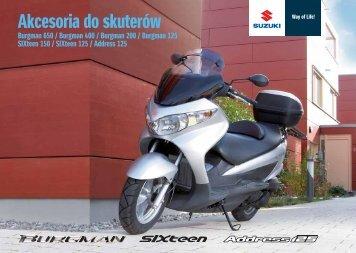 Scooter 2009 - Suzuki Motor Poland
