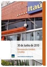 DCC300610.pdf - Relações com Investidores - Banco Itaú