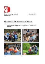 Rekruttering og fastholdelse af nye medlemmer - Dansk ...