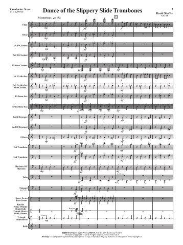Dance of the Slippery Slide Trombones - Music Ruh