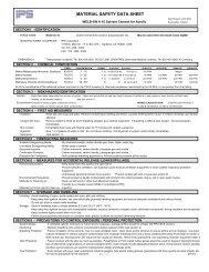 MATERIAL SAFETY DATA SHEET - TechnologyLK.com