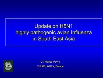 Diapositive 1 - Flutrop CIRAD Avian Influenza - Cirad