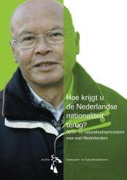 Hoe krijgt u de Nederlandse nationaliteit terug? - Gemeente Houten