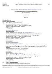 L-Luxembourg: FL/GEN12-02 — Services de traduction - Europa