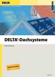Technische Planung DELTA®-Dachsysteme