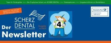 Download Newsletter 04/2005.pdf - Scherz Dental