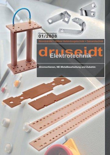 Stromschienen, NE-Metallbearbeitung und Zubehör ... - Druseidt