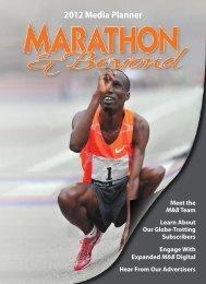 2012 Media Planner - Marathon and Beyond