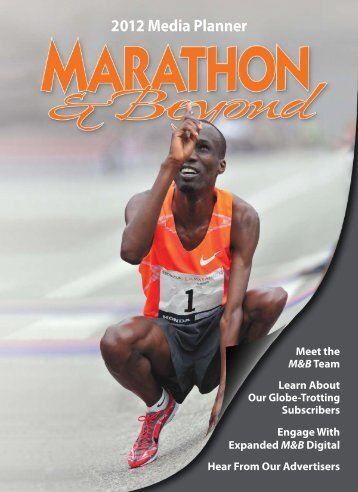 2012 Media Planner - Marathon and Beyond