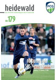 OSTERMANN COLOR OSTERMANN COLOR ... - FC Gütersloh